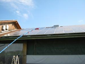 reinigung leistungssteigerung von photovoltaik anlagen palme solar gmbh. Black Bedroom Furniture Sets. Home Design Ideas